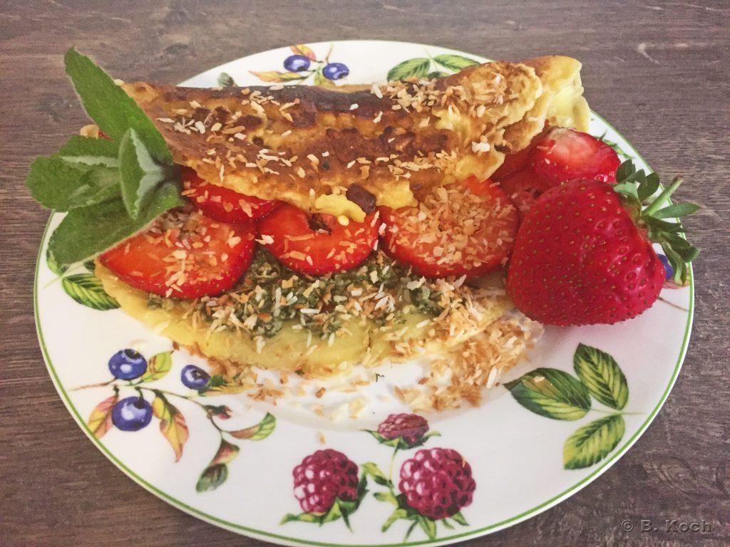erdbeerpfannekuchen