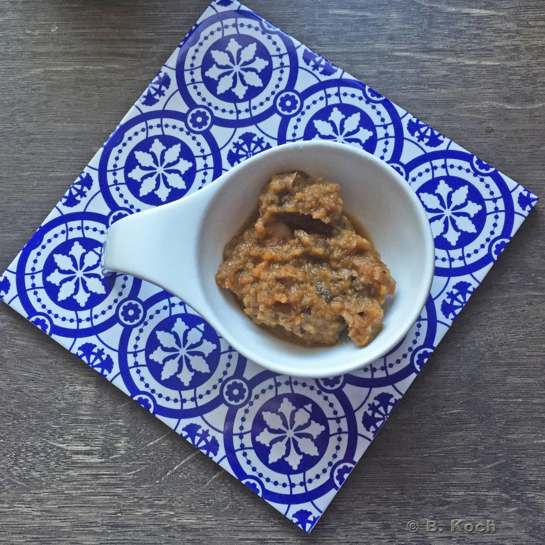 dunkle sauce mit aceto balsamico ohne fleisch