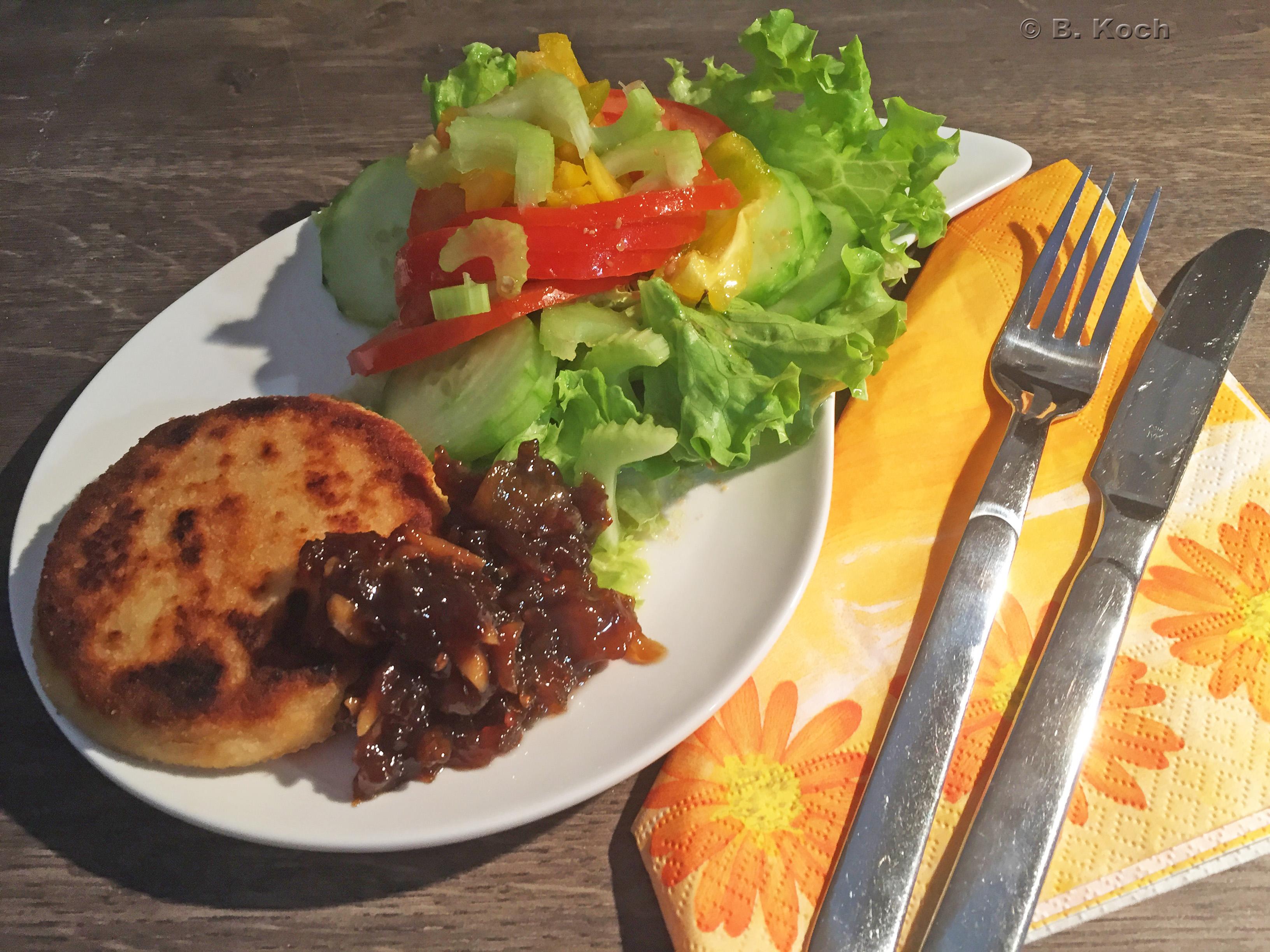 camembert selber panieren