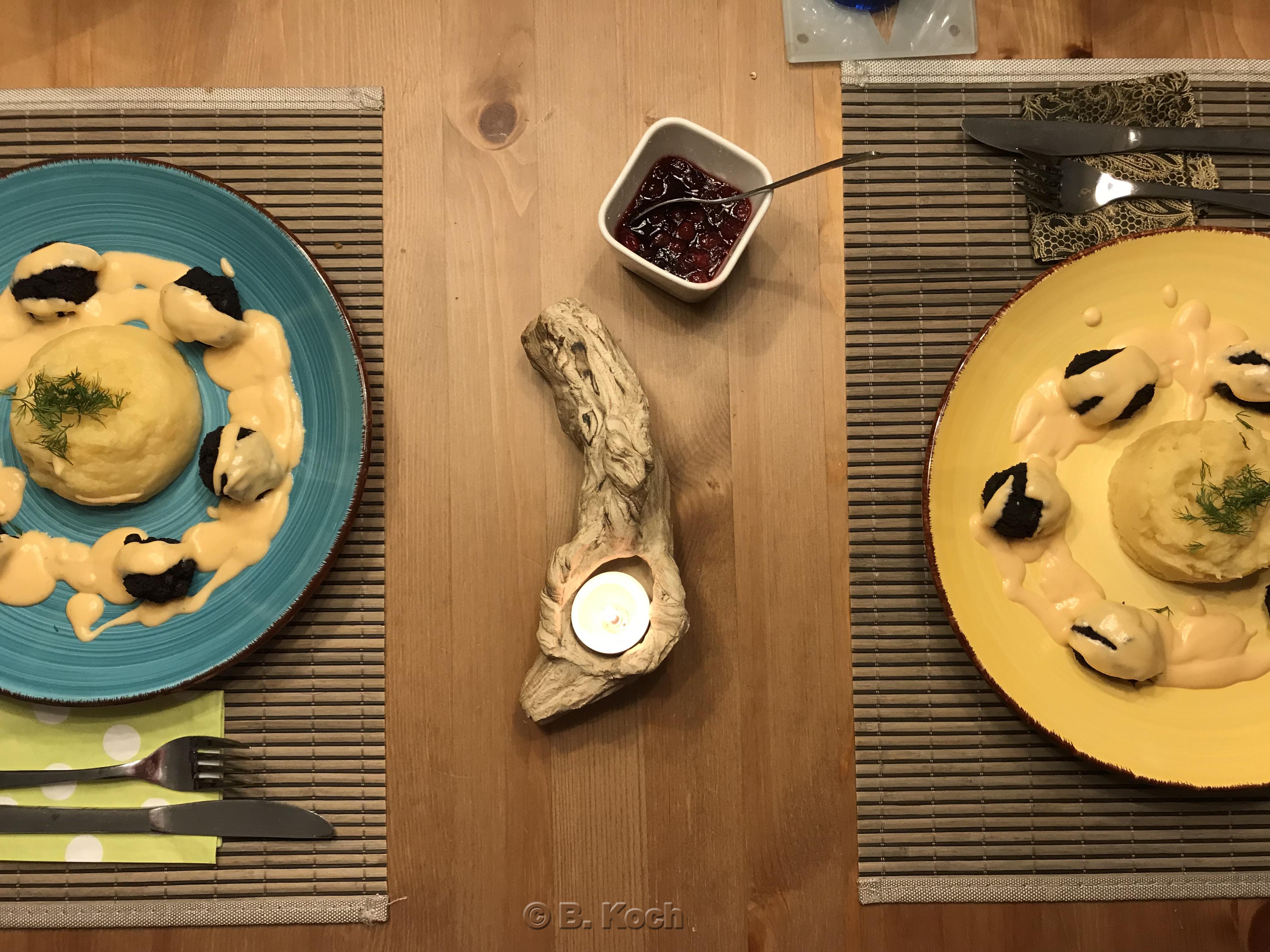 1X Umrühren Bitte Aka Kochtopf blog-event cxlix – typisch schweden (grönsakbullar mit