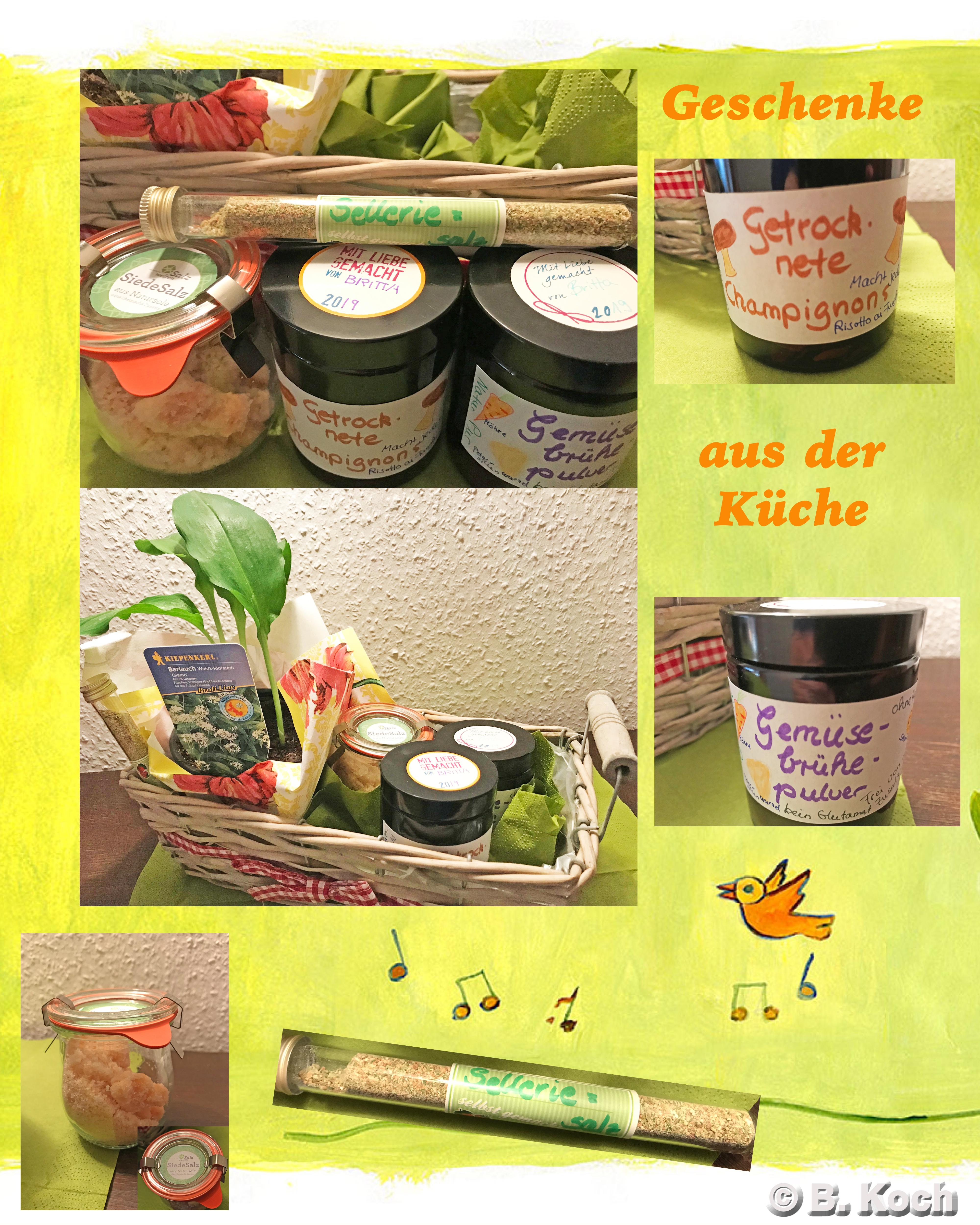 Kleine Geschenke aus der Küche | Brittas Kochbuch