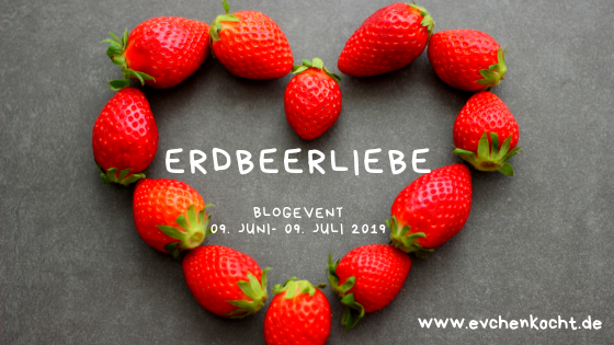 Blogevent: Erdbeerliebe – Grüner Spargelsalat mit Erdbeerdressing